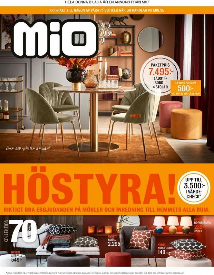 Mio Erbjudande Höstyra! . Mio (2019-10-14-2019-10-14)