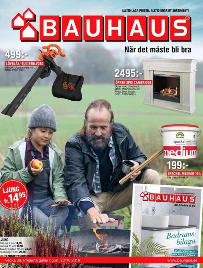 Bauhaus Erbjudande Aktuella Kampanjer . Bauhaus (2019-10-23-2019-10-23)