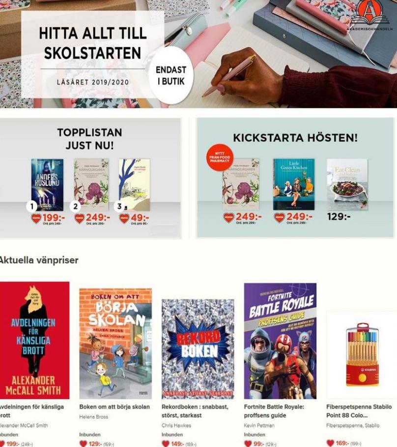 Akademibokhandeln Erbjudande Kampanjer . Akademibokhandeln (2019-10-07-2019-10-07)