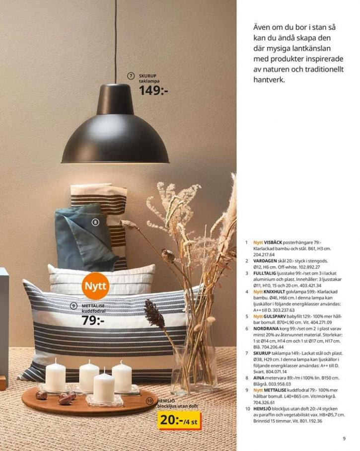 IKEA Katalogen 2020 . Page 9