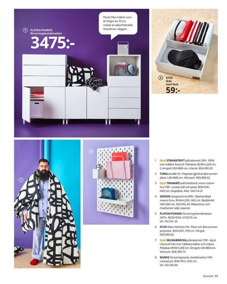 IKEA Katalogen 2020 . Page 93
