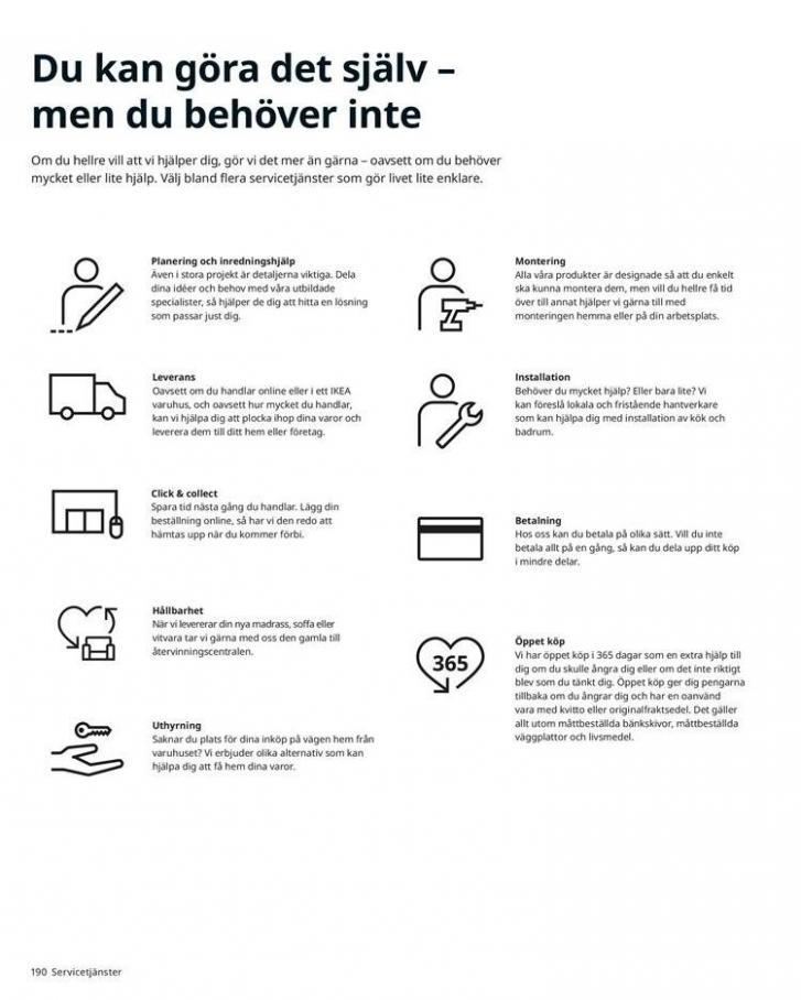 IKEA Katalogen 2020 . Page 190