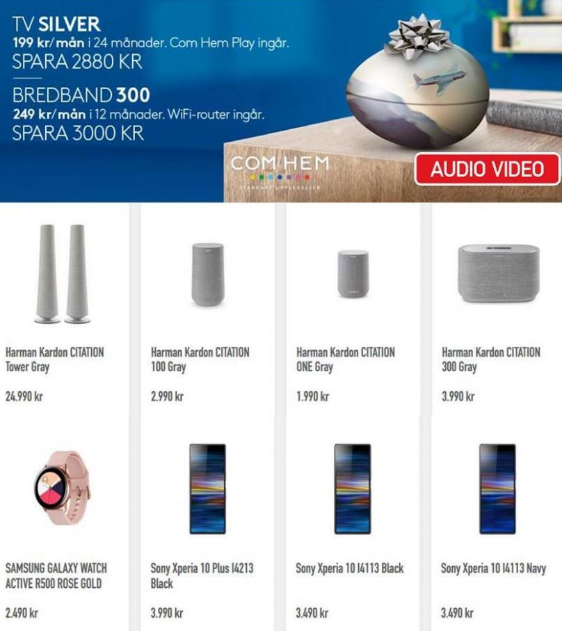 Audio Video Erbjudande Kampanjer . Audio Video (2019-09-24-2019-09-24)