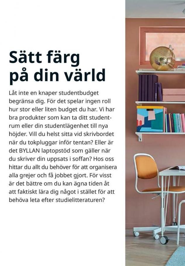 Arbete, studier och hobby 2020 . Page 14
