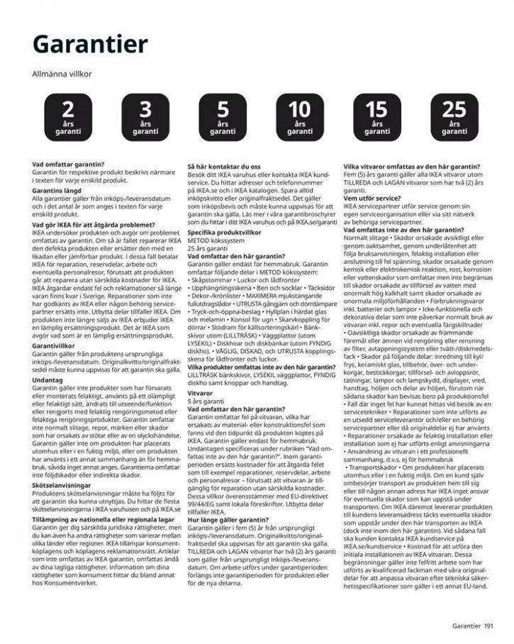 IKEA Katalogen 2020 . Page 191
