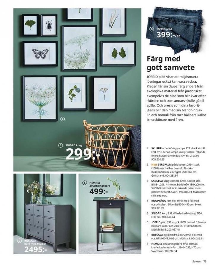 IKEA Katalogen 2020 . Page 79