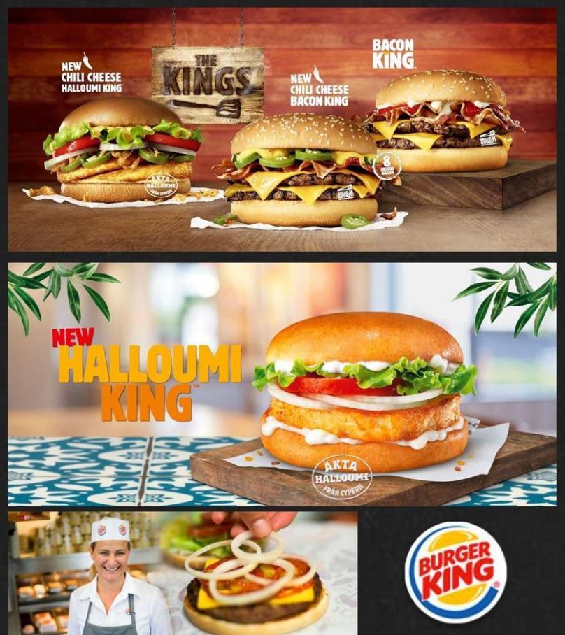 Vår meny Burger King . Burger King (2020-01-13-2020-01-13)
