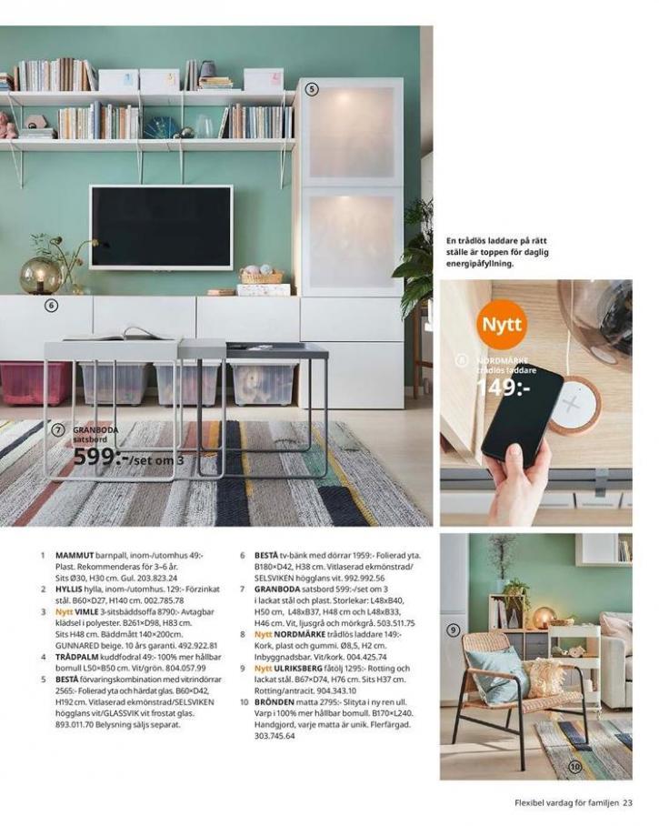 IKEA Katalogen 2020 . Page 23