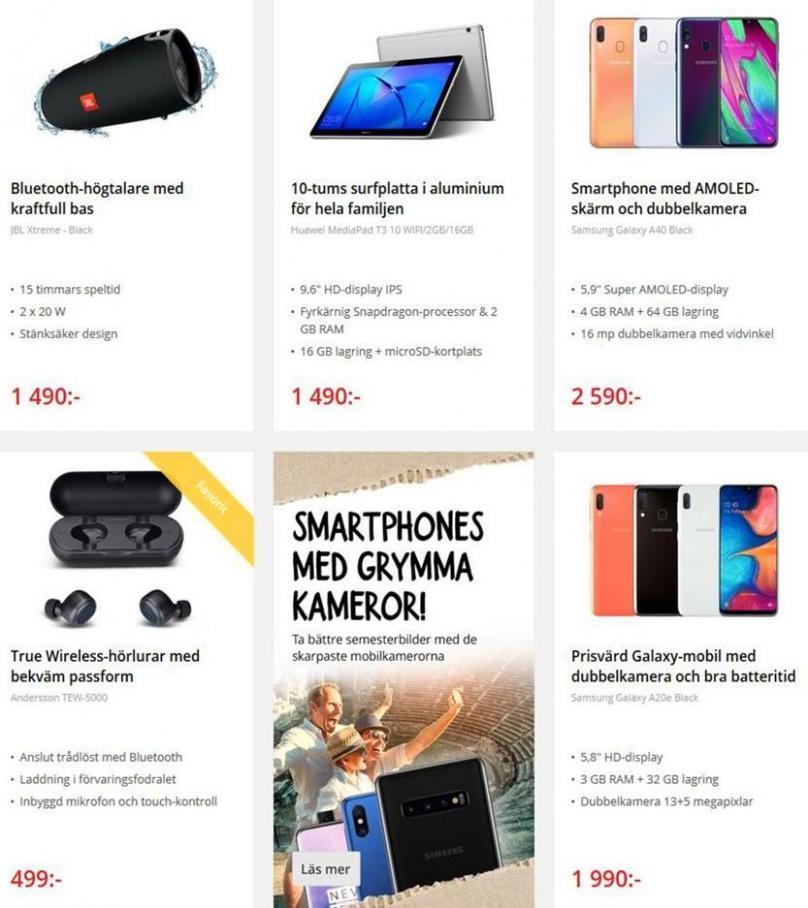 Net On Net Erbjudande Sommar 2019 . Page 6