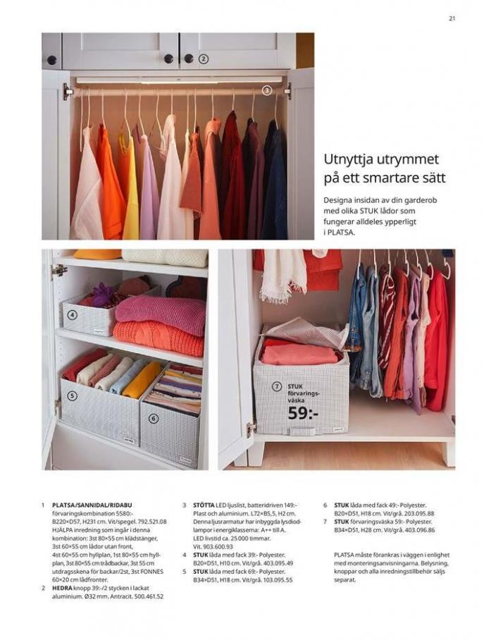 Garderober 2020 . Page 21