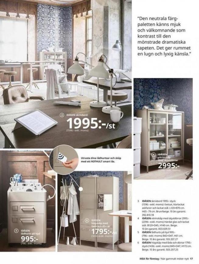 IKEA för företag 2020 . Page 17