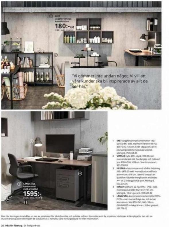 IKEA för företag 2020 . Page 26