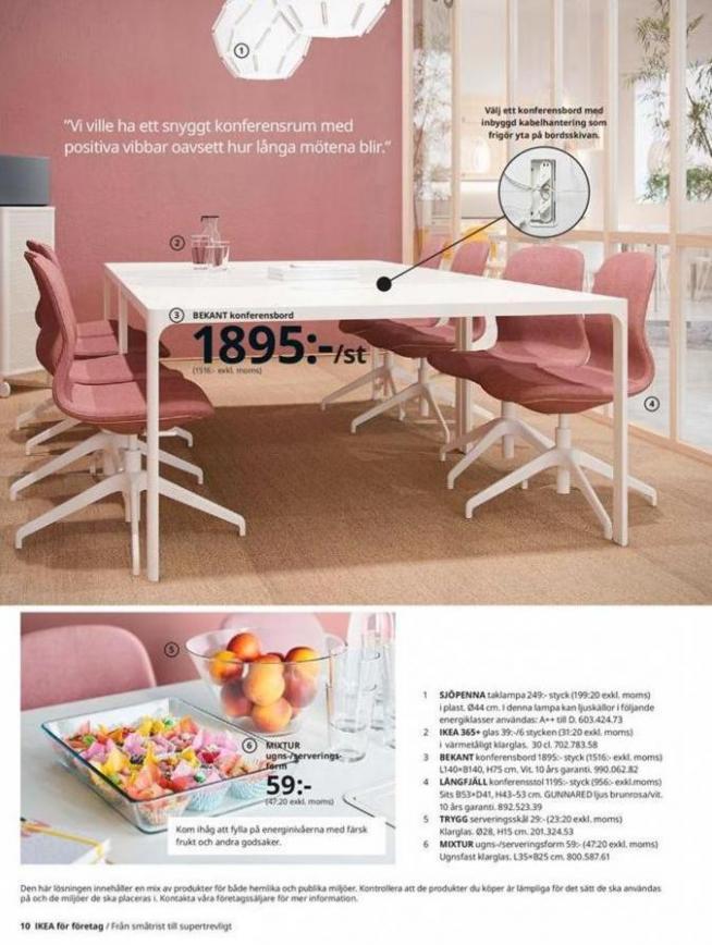 IKEA för företag 2020 . Page 10