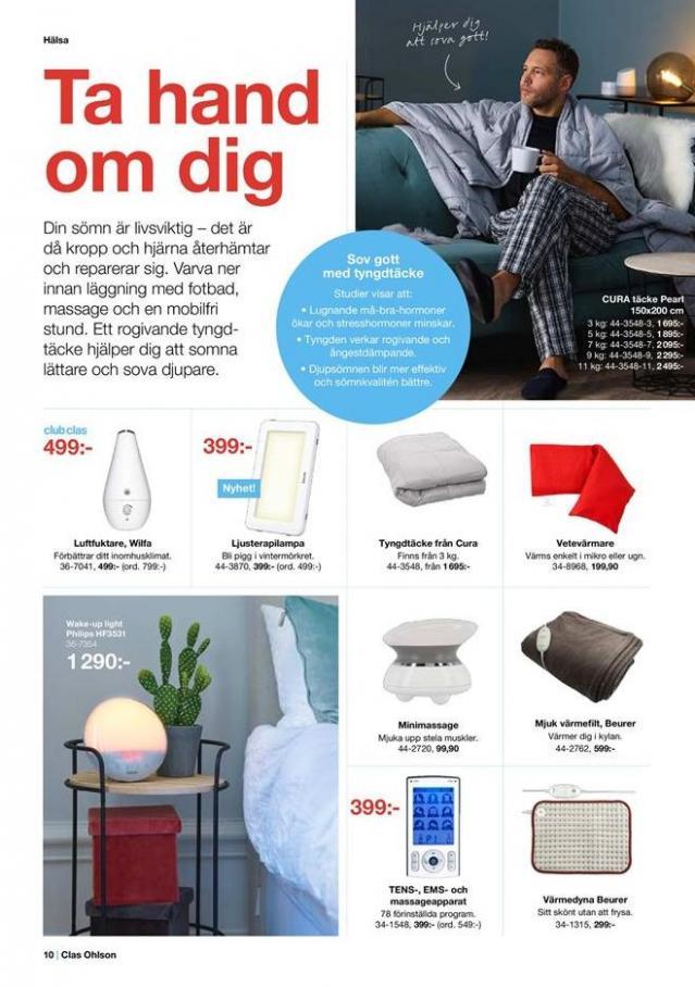 Clas Ohlson Erbjudande Jul 2019 . Page 10