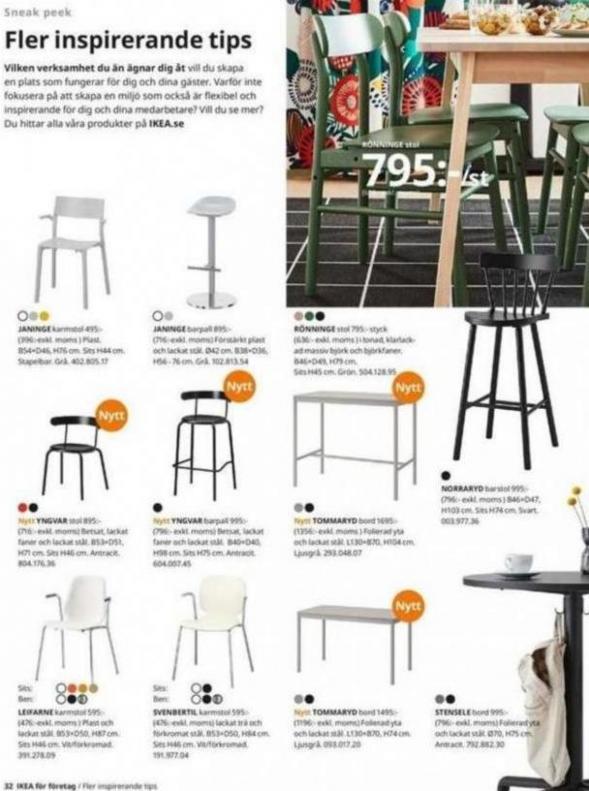 IKEA för företag 2020 . Page 32