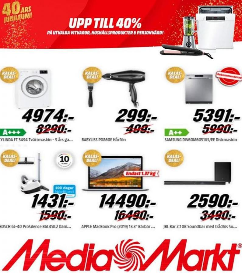 Media Markt Erbjudande Kampanjer . Media Markt (2019-11-30-2019-11-30)