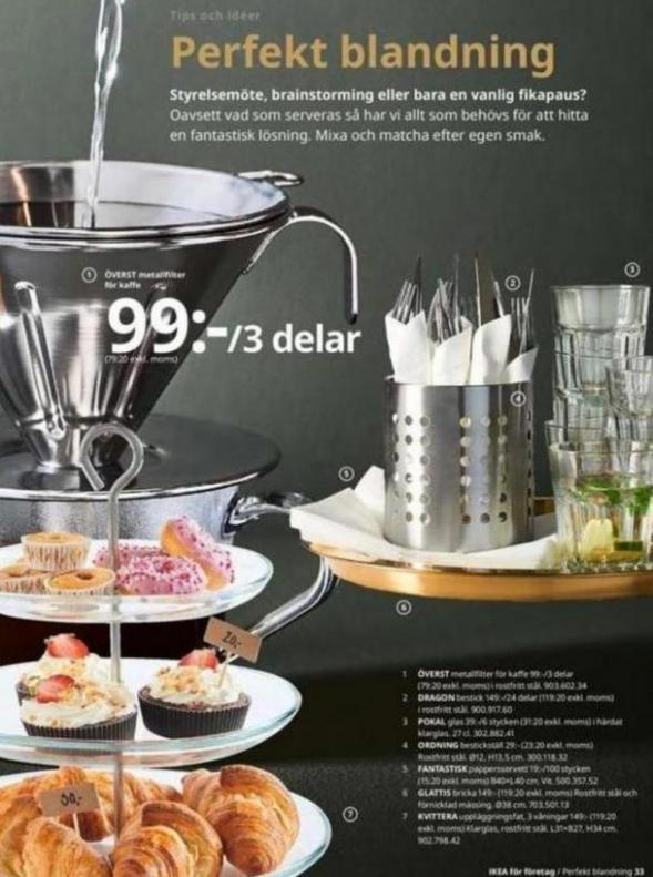 IKEA för företag 2020 . Page 33