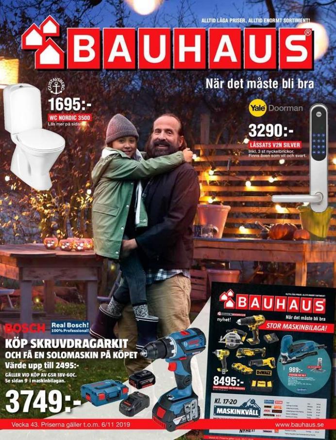 Bauhaus Erbjudande Aktuella Kampanjer . Bauhaus (2019-11-06-2019-11-06)
