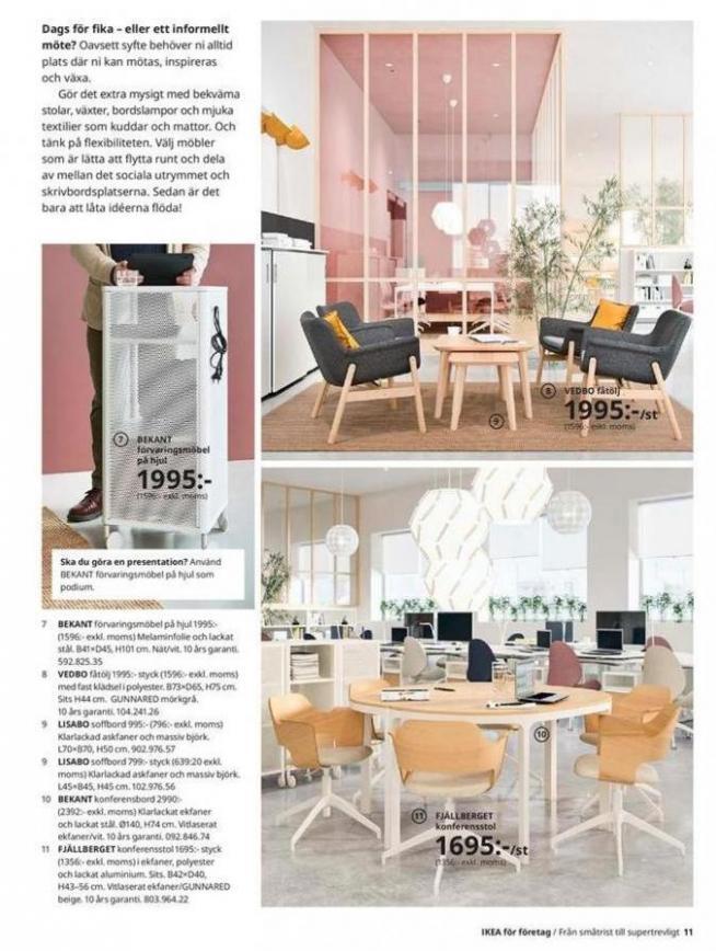IKEA för företag 2020 . Page 11