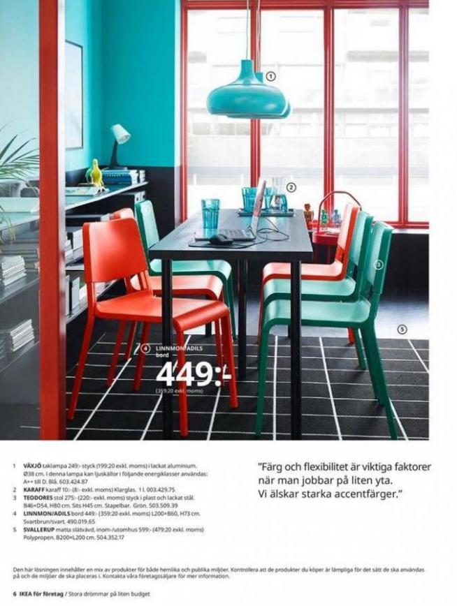 IKEA för företag 2020 . Page 6