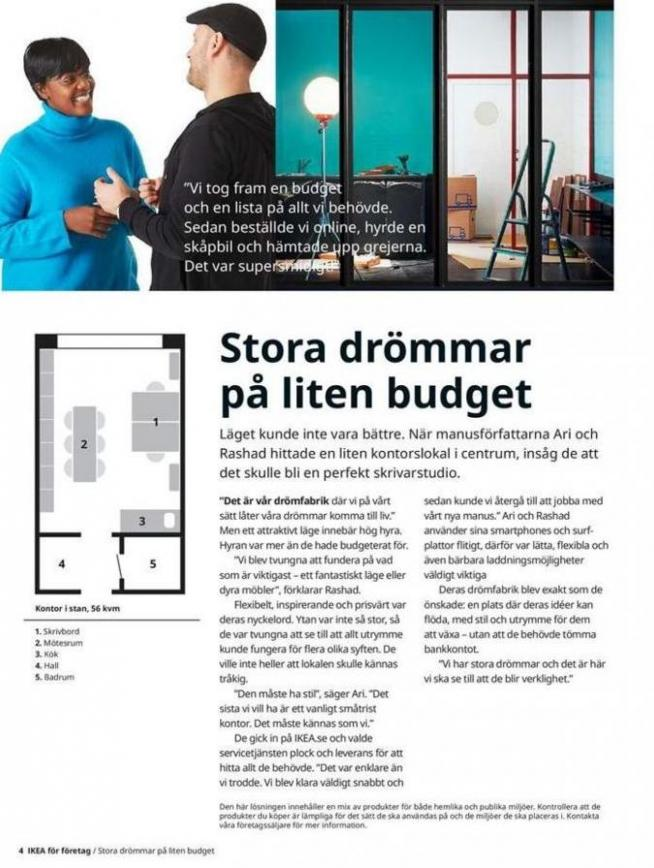 IKEA för företag 2020 . Page 4
