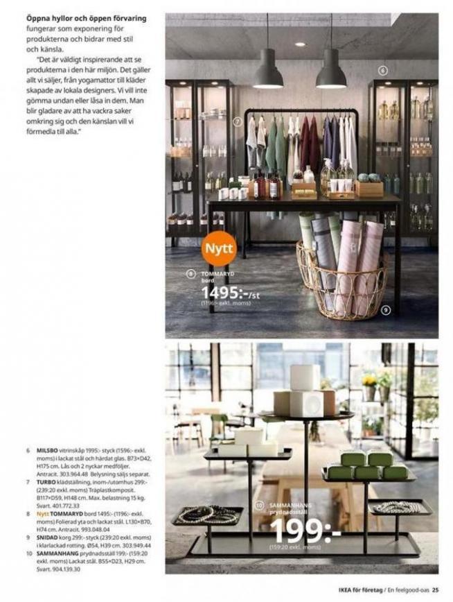 IKEA för företag 2020 . Page 25