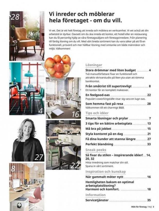 IKEA för företag 2020 . Page 3