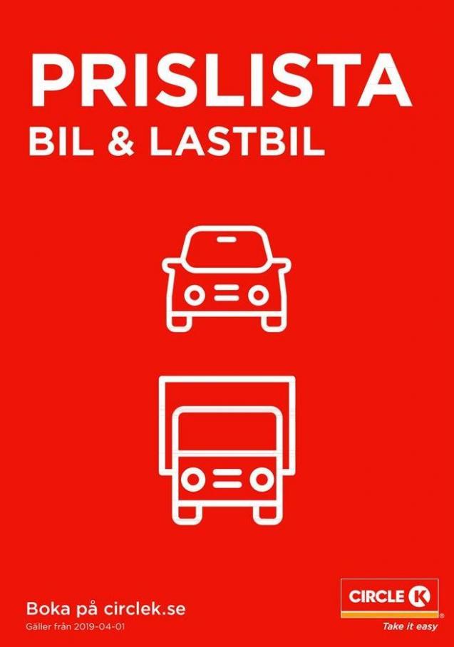 Prislista Bil & Lastbil . Circle K (2019-12-31-2019-12-31)