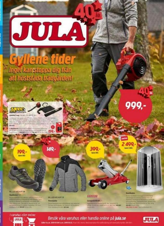 Jula reklamblad . Jula (2019-10-23-2019-10-23)