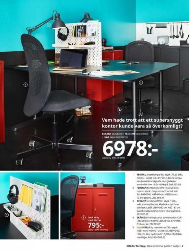 IKEA för företag 2020 . Page 5