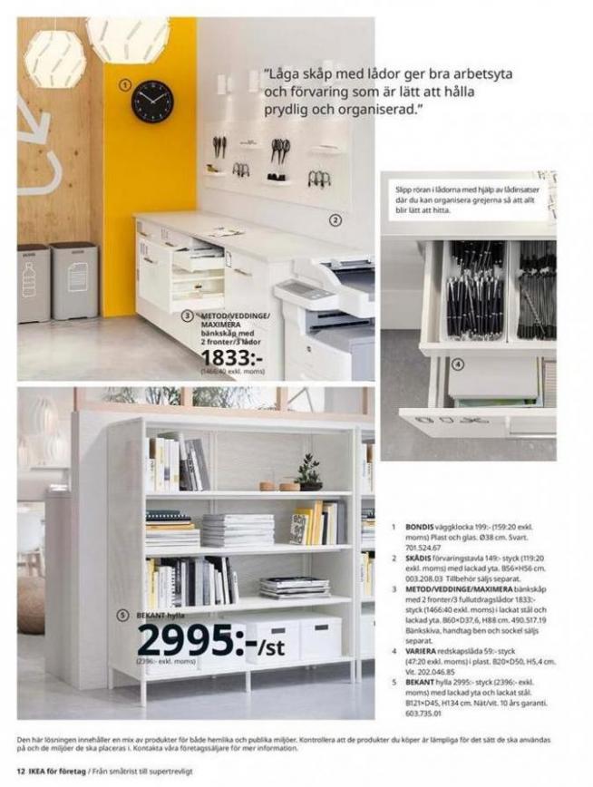 IKEA för företag 2020 . Page 12