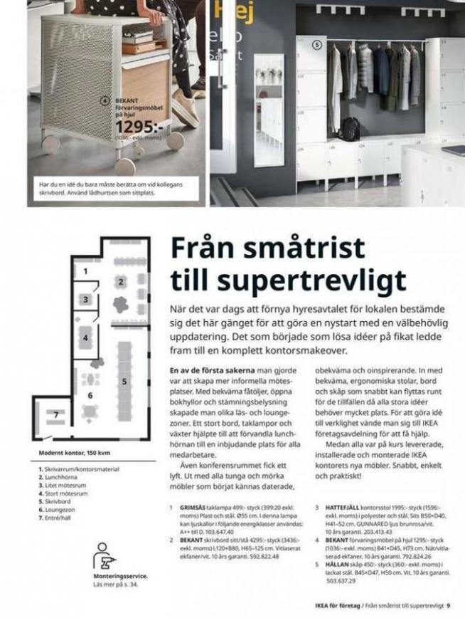IKEA för företag 2020 . Page 9