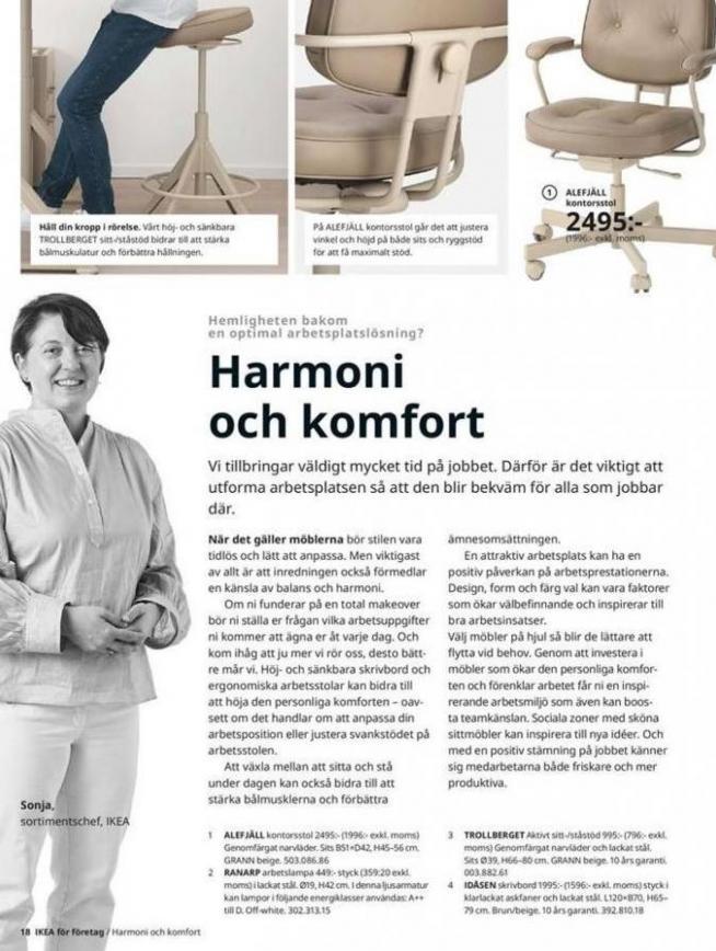IKEA för företag 2020 . Page 18