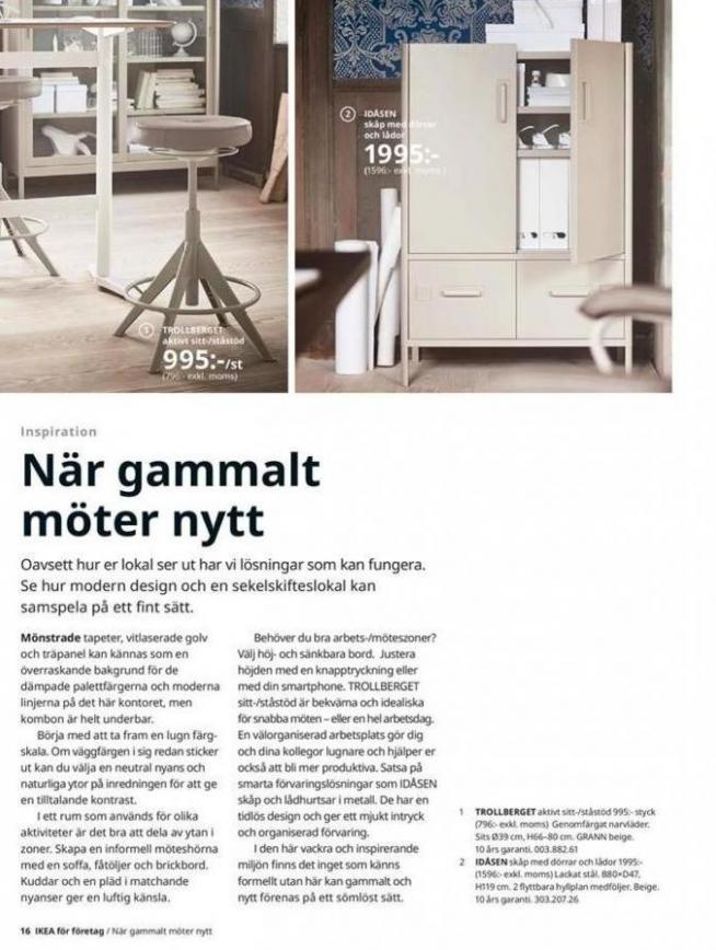 IKEA för företag 2020 . Page 16