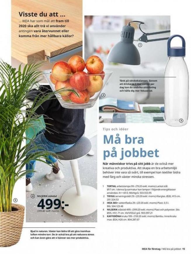 IKEA för företag 2020 . Page 15