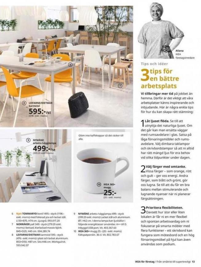 IKEA för företag 2020 . Page 13