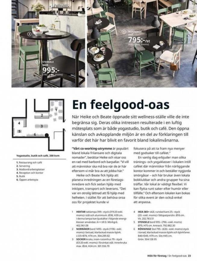 IKEA för företag 2020 . Page 23