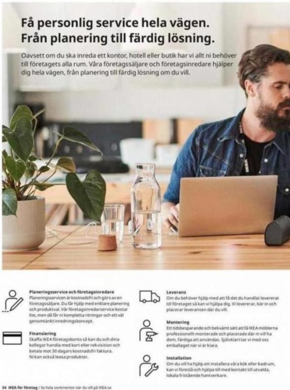 IKEA för företag 2020 . Page 34