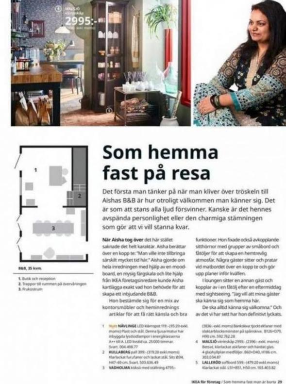 IKEA för företag 2020 . Page 29
