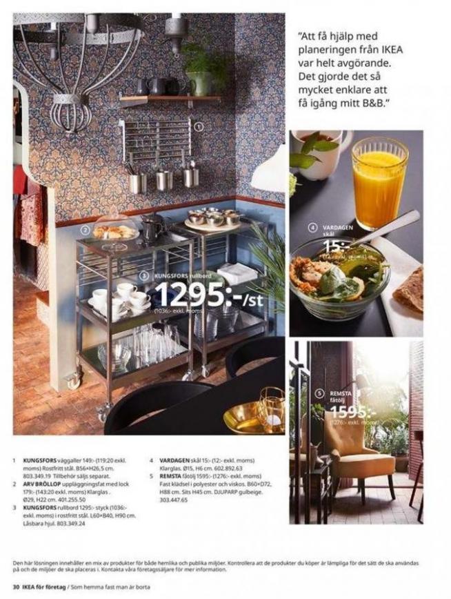 IKEA för företag 2020 . Page 30