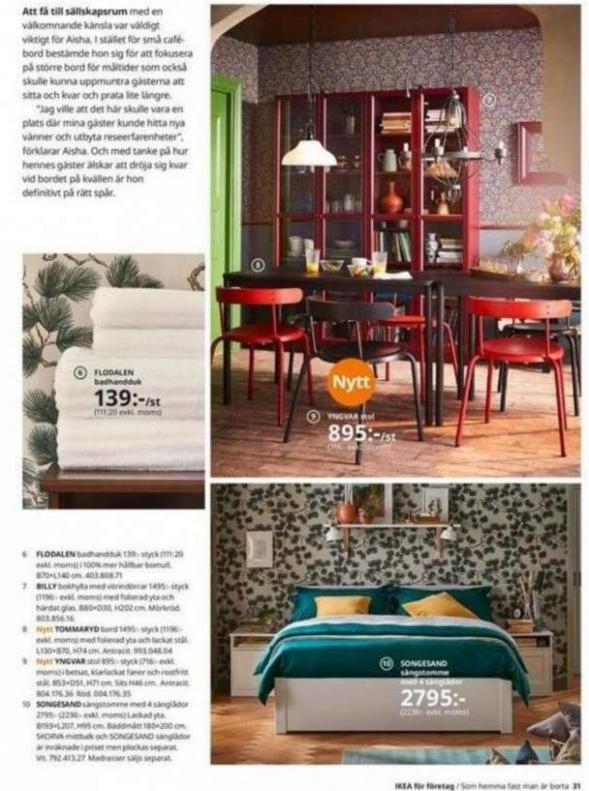 IKEA för företag 2020 . Page 31