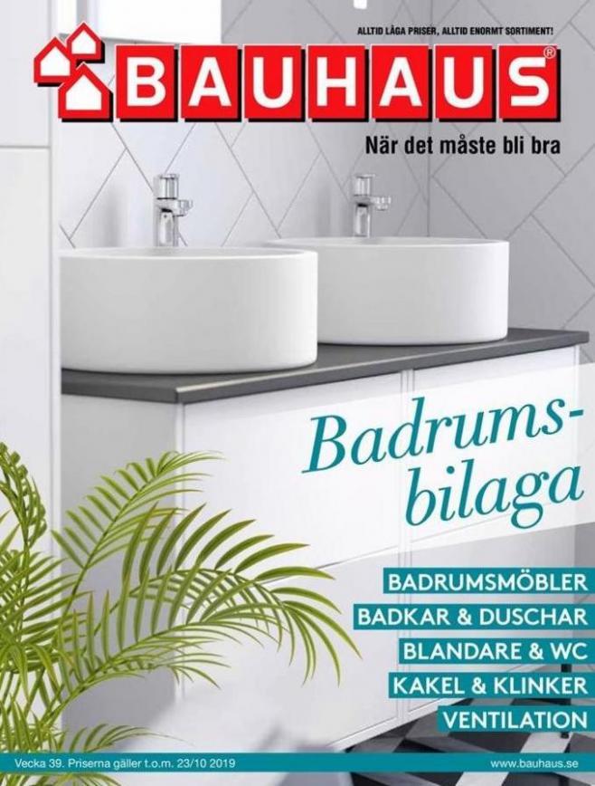 Bauhaus Erbjudande Badrums bilaga . Bauhaus (2019-10-23-2019-10-23)