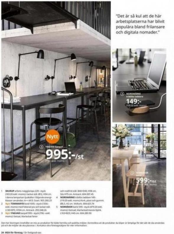 IKEA för företag 2020 . Page 24