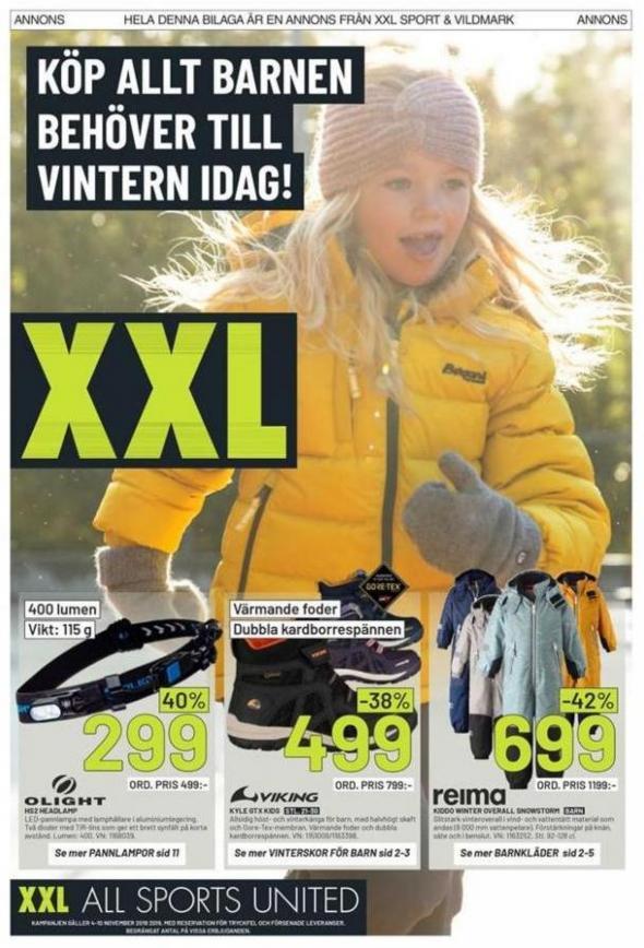 XXL Erbjudande Köp alt barnen behöver till vintern idag! . XXL (2019-11-10-2019-11-10)