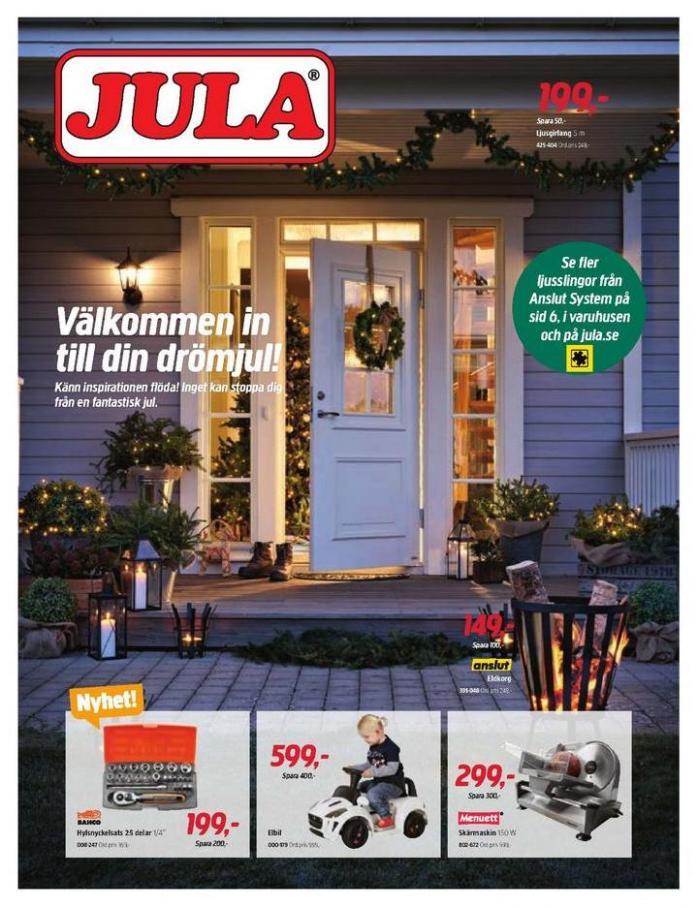 Jula reklamblad . Jula (2019-12-31-2019-12-31)