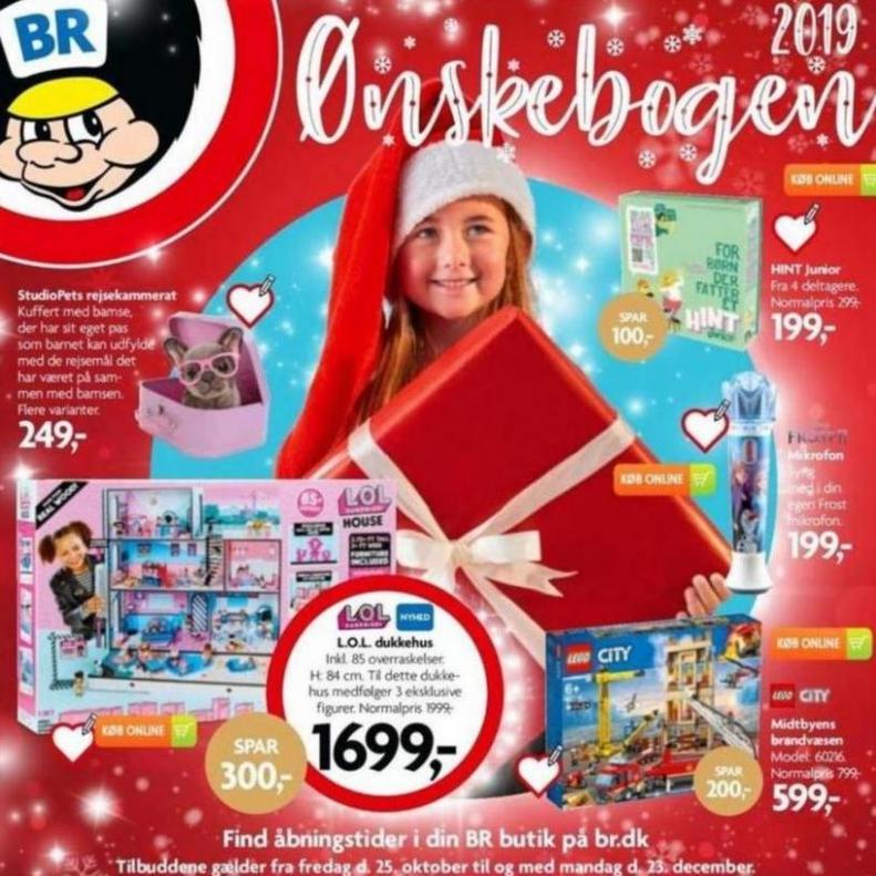 BR leksaker Erbjudande Onskebogen 2019 . BR leksaker (2019-12-23-2019-12-23)