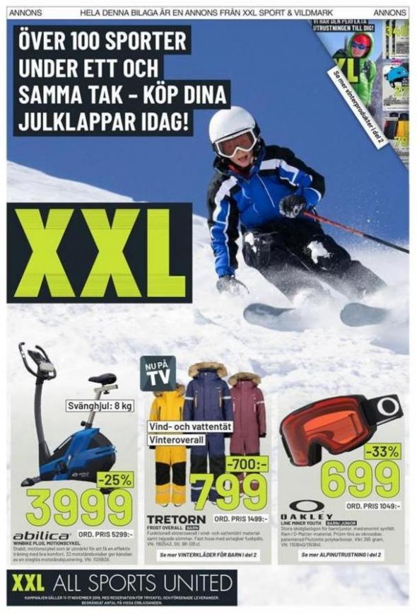 XXL Erbjudande Över 100 Sporter . XXL (2019-11-17-2019-11-17)