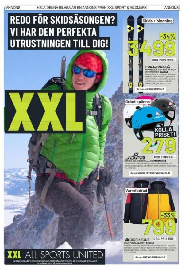 XXL Erbjudande Redo för Skidsäsongen? . XXL (2019-11-17-2019-11-17)