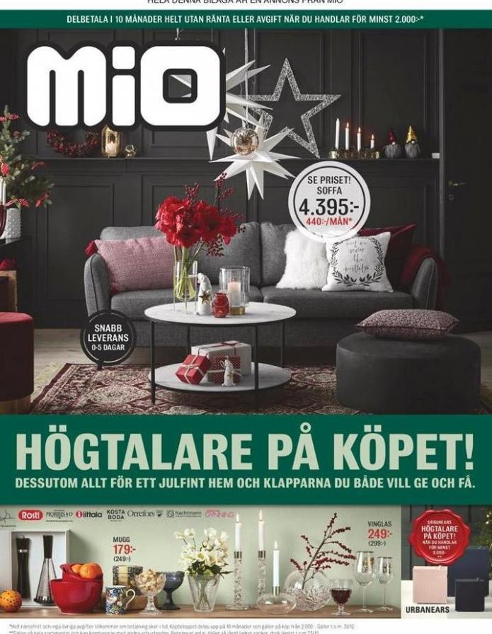 Mio Erbjudande Högtalare på Köpet! . Mio (2019-12-31-2019-12-31)