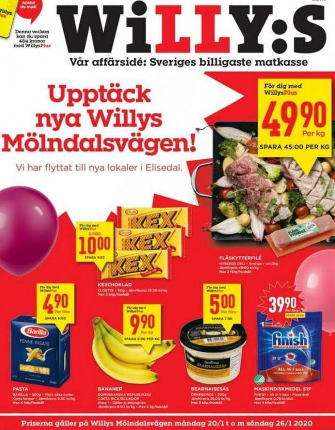 Willys reklamblad . Willys (2020-01-26-2020-01-26)